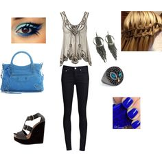 Fierce, created by bethanyl on Polyvore