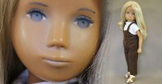 SASHA DOLL UK 1967 Sasha Jeans  NP Doll. Stunning hand painted transitional eyes.