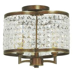Livex Lighting Grammercy 50573 Semi Flush Light - 50573-64