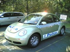 VW New Beetle police car, Sydney, Australia