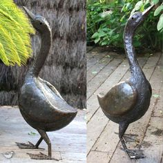 deco jardin grand coq sculpture en metal peint sculptures en fer recycl du zimbabwe. Black Bedroom Furniture Sets. Home Design Ideas