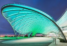 birdair canopy | Empire City Casino at Yonkers Raceway in Yonkers, New York welcomes ...