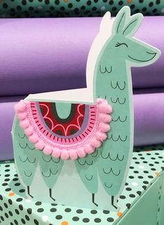 pink & green llama print & pattern: PAPERCHASE - no probllama Alpacas, Cute Llama, Llama Llama, Llama Pillow, Llama Face, Baby Llama, Funny Llama, Llama Arts, Llama Birthday