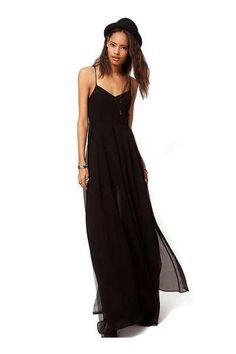 Pleated Cami Maxi Dress - £15.19