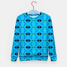 Kids artistic sweater, MOROCCO Blue Design Shop, Morocco, Boutique, Live, Stylish, Sweatshirts, Artist, Sweaters, Shopping