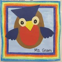 Art with Mrs. Nguyen: Cut-and-Glue Owls! (K)