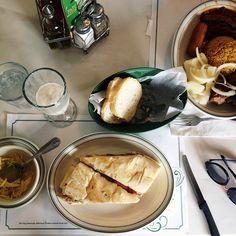 cuban food ad t versailles restaurant, miami