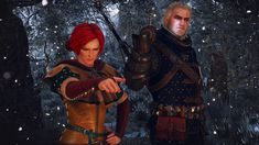 I'm a big fan of Witcher games and books. My favorite character is Triss Merigold, but I'm a sucker for sorceresses. Triss Merigold, Hail Storm, The Witcher, Wonder Woman, Superhero, Fictional Characters, Women, Costumes, Fantasy Characters