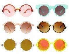 occhiali da sole rotondi asos Vera Bellezza 9ab363879a2