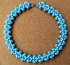 Free pattern for beaded necklace  Melissa | Beads Magic#more-6660