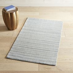Cain Striped Blue 9x12 Rug