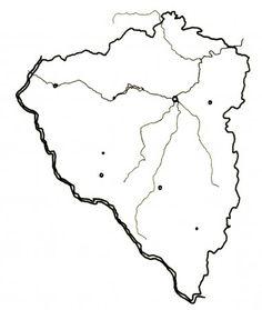 slepá mapa plzeňský kraj - Hledat Googlem Diagram, Map, Location Map, Maps