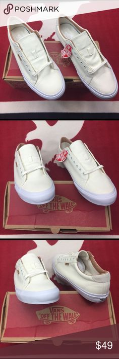 Vans Court + Washed Marshmallow Canvas The Court + iconic Vans style, features a simple low top profile, with sturdy canvas uppers, special metal eyelets, and signature waffle sole. Vans Shoes Sneakers