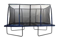 Bring bouncing fun to your own backyard with this New Upper Bounce Easy Assemble 8' X 14' Rectangular Trampoline with the Fiber Flex Enclosure Feature. This Upper Bounce rectangular trampoline will l