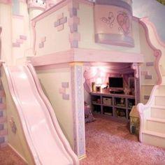 Cute The Princess Castle Bed For Little Girl : The Princess Castle ...