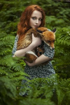 Redhead Calendar: We Shot Redhead People & Animals To Show Their Unique…