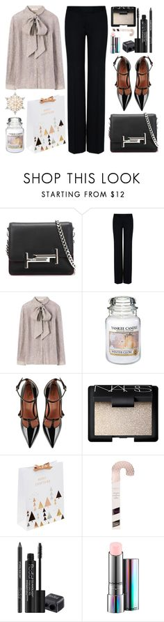 """Untitled #926"" by alissar13 ❤ liked on Polyvore featuring Tod's, STELLA McCARTNEY, Tory Burch, Yankee Candle, RED Valentino, NARS Cosmetics, Rodial, MAC Cosmetics and GE"