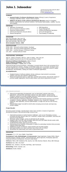 Financial Analyst Resume Sample Business Pinterest Resume and