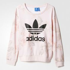 adidas Pastel Rose Sweatshirt - Multicolor   adidas US #adidas #sporty #athletic #wishlist #want #need