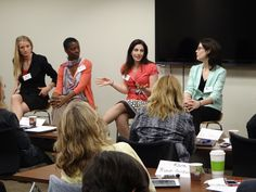 Speakers Sharing Their Perspective Durng The Roundtable Panel: Katie, Tracye, Kristin, Cassie #vpbootcamp