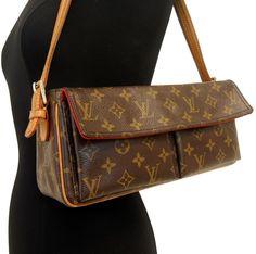 RARE! Authentic LOUIS VUITTON  VIVA CITE MM Handbag Shoulder Bag LV Purse #LouisVuitton #Satchel