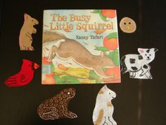 Book, The Busy Little Squirrel by Nancy Tafuri & Flannel Board Idea (from Thrive After Three)