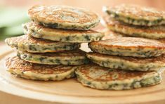 These Ecuadoran-inspired green pancakes flavored with a hint of cilantro are a perfect complement to a savory meal.Inspired by Whole Planet Foundation® microcredit client recipes.