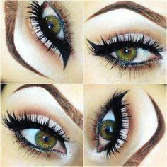 Long lashes, soft makeup and green eyes. Soft Makeup, Kiss Makeup, Pretty Makeup, Makeup Looks, Face Makeup, Awesome Makeup, Clean Makeup, Natural Makeup, Makeup Tips
