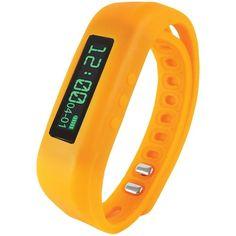 $49.99  Supersonic Bluetooth Smart Wristband Fitness Tracker (orange)