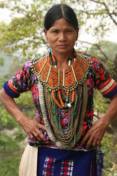 naga tribe of nepal - the detail on that collar necklace is so intricate!