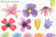 Forest Watercolor DIY by Julia Dreams on Creative Market