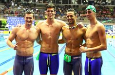 Wow that is a good relay team go SA! South African Relay Time Trials To Rio Qualification (SA Champs Day 6)