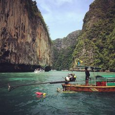 The Caves On PiPi Islands in Thailand - will go there
