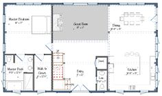 The Suffolk barn house plan. Great floor plan with 5 bedrooms. Would need to add an extension on with a pantry, mudroom, and laundry room. It could connect the house with the garage.