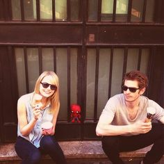 Emma Stone and Andrew Garfield  F A V