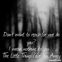 Linkin Park - Little things give you away