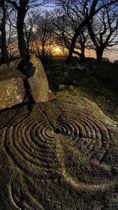 Celt  Symbols found around in Galicia. NW Spain. EU