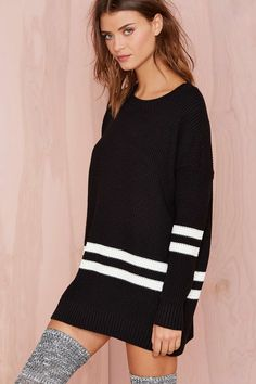 On The Line Sweater |