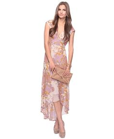 Floral High-Low Dress - StyleSays