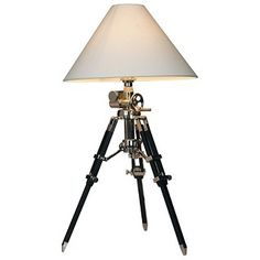 Westminster Tripod Table Lamp with Crank $214.99