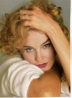 "Jessica Lange - Now think ""American Horror Story"". Yeah, amazing actress"
