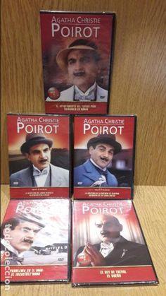AGATHA CHRISTIE. POIROT. VOL. 1 AL 5 PRECINTADOS. 10 PELÍCULAS EN 5 DVD. OCASIÓN.