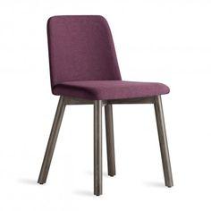 Chip Modern Dining Chairs – Smoke & Purple