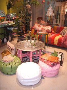 French Morroco - love the colors Moroccan Room, Moroccan Interiors, Interior Architecture, Interior Design, Room Decor, Wall Decor, Bohemian Interior, Fashion Room, New Room