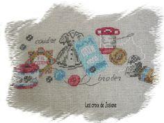Les Brodeuses Parisiennes Creation Point de Croix 25 Veronique Enginger