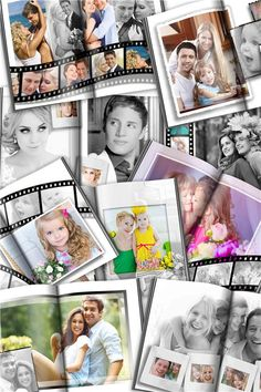 Frame Template, Templates, Photo Layers, Photo Book, Polaroid Film, Photoshop, Models, Template, Stencils