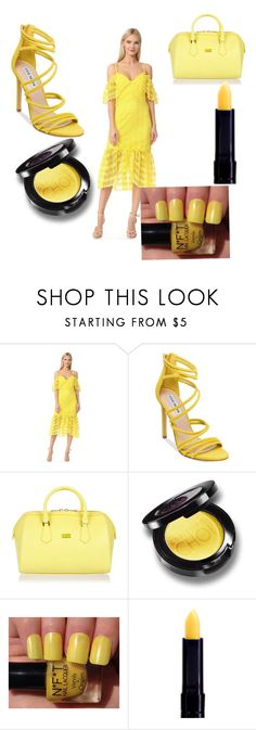 """YELLOW"" by leo-harry-potter ❤ liked on Polyvore featuring Three Floor, Steve Madden and Patrizia Pepe"