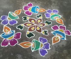 Easy Rangoli Patterns, Giraffe Painting, Floor Art, Simple Rangoli, Dots, Kids Rugs, Home Decor, Stitches, Decoration Home