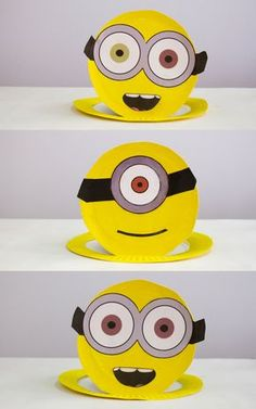 How to make easy Minion Party Hats. | Room to Grow TV