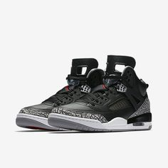 "more photos 4c535 274b1 Official Images Of The Jordan Spiz ike ""Black Cement"""